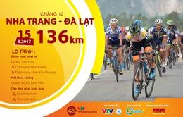 Lộ trình chặng 12 giải xe đạp quốc tế VTV Cúp Tôn Hoa Sen 2017
