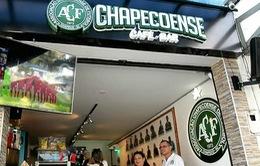 Nhà hàng mang đậm dấu ấn của CLB Chapecoense