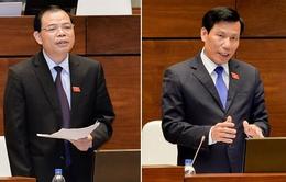 Hôm nay, hai Bộ trưởng đầu tiên đăng đàn trả lời chất vấn trước Quốc hội