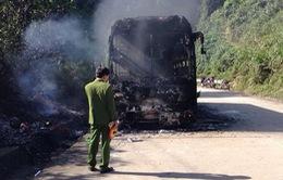Cháy xe ô tô chủ yếu do sự bất cẩn của lái xe