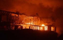 40 người nhập viện do hỏa hoạn ở hộp đêm nổi tiếng của Romania