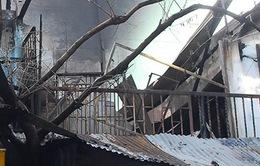 Cháy cơ sở may mặc tại TP.HCM