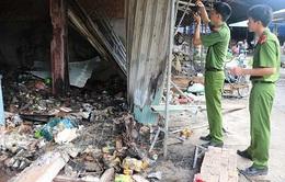 Quảng Ngãi: Cháy chợ Nghĩa Kỳ có thể do chập điện