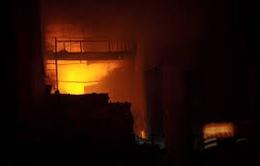 Bình Phước: Cháy công ty dược gây thiệt hại hơn 1 tỷ đồng
