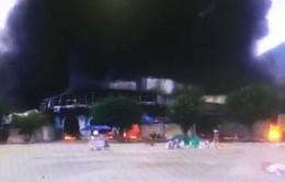 Cháy lớn ở chợ cửa khẩu Tân Thanh, Lạng Sơn