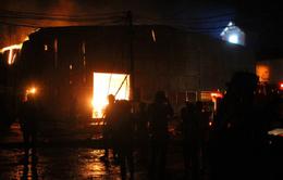 Hỏa hoạn thiêu rụi xưởng gỗ tại Đồng Nai