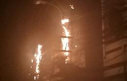 Đà Nẵng: Hệ thống dây điện bốc cháy khiến người dân hốt hoảng