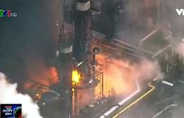 Nhật Bản: Nhà máy hóa chất phát hỏa, người dân sơ tán trên diện rộng