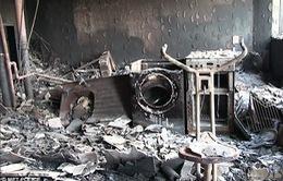 Công bố video bên trong tòa chung cư cháy đen ở Anh