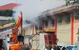Tổng kiểm tra, rà soát các kho thuộc cảng Hà Nội sau vụ cháy