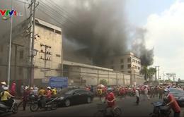 Sớm ổn định tình hình sau vụ cháy ở khu công nghiệp Trà Nóc