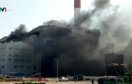 Cháy nhà máy Nhiệt điện Thái Bình 2