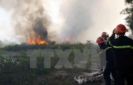 Cảnh báo cháy rừng tại một số địa phương
