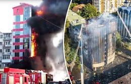Cháy khách sạn tại Nga, ít nhất 2 người thiệt mạng