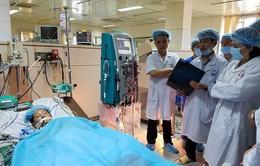 Bổ sung máy chạy thận cho Bệnh viện TP Hòa Bình