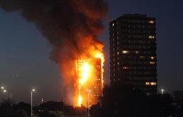 Vụ cháy tòa nhà 24 tầng tại London: Không nghe thấy cảnh báo từ hệ thống báo động