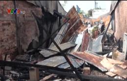 Hỏa hoạn thiêu rụi nhà dân, gây thiệt hại hàng trăm triệu đồng