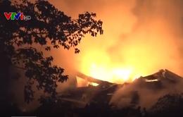 Phép màu từ việc ứng cứu kịp thời đám cháy nhà xưởng 5.000 m2 ở TP.HCM