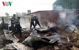 Hỏa hoạn thiêu rụi xưởng gỗ tại Lâm Đồng