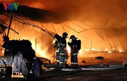 Cháy chợ của người Việt tại Cộng hòa Czech