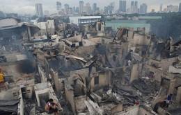Cháy khu nhà ổ chuột ở Philippines, hàng nghìn người vô gia cư