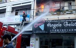 Cháy quán kem tại Nha Trang, khách nháo nhào tháo chạy