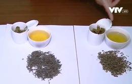 Làm thế nào để phân biệt chè sạch và chè trộn tạp chất?
