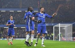 Vòng 22 giải Ngoại hạng Anh: Chelsea 2-0 Hull City: The Blues ung dung trên đỉnh