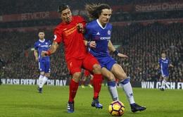 Vòng 23 giải ngoại hạng Anh: Liverpool và Chelsea bất phân thắng bại