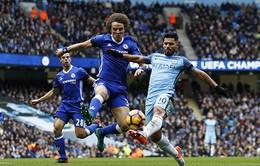 Chelsea và Man City có mạch bất bại ngang nhau