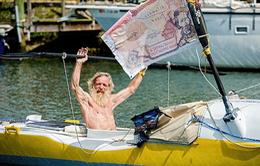 Cụ ông vượt biển Đại Tây Dương bằng thuyền Kayak ở tuổi 70
