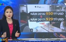 Chi tiêu toàn cầu cho hàng điện tử có thể giảm trong năm 2017