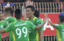 Kết quả vòng 6 V.League 2017, chiều 18/2: XSKT Cần Thơ 4-2 CLB Sài Gòn, Quảng Nam 2-2 Sanna Khánh Hòa, SHB Đà Nẵng 0-0 FLC Thanh Hoá