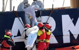 Chìm tàu ngoài khơi Libya, hơn 100 người chết và mất tích