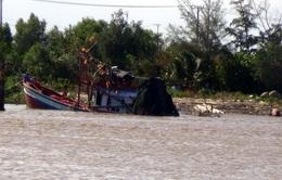 Tìm thấy nạn nhân mất tích vụ chìm tàu cá tại Bạc Liêu