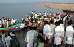 Chìm tàu ở Ấn Độ, ít nhất 8 người thiệt mạng