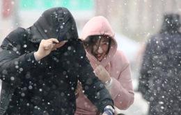 Không khí lạnh bao phủ nhiều khu vực ở Trung Quốc
