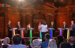Bầu cử Anh: 7 chính đảng tranh luận trực tiếp trên truyền hình