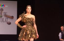 Pháp: Trình diễn thời trang bằng chocolate
