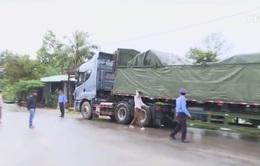 Phạt gần 300 triệu đồng 3 xe chở hàng trăm tấn ở Phú Yên