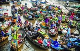 Ngày hội chợ nổi Cái Răng ở Cần Thơ
