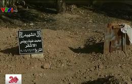 Nỗi lo thiếu đất chôn cất của người dân vùng chiến sự Mosul