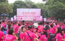 10.000 người đi bộ tuyên truyền chống bạo hành phụ nữ và trẻ em