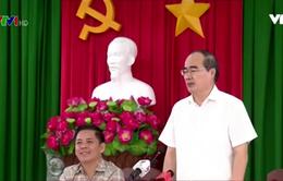 Chủ tịch UB Trung ương Mặt trận Tổ quốc Việt Nam chúc mừng Tết cổ truyền của đồng bào Khmer
