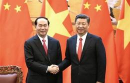 Thông cáo chung Việt Nam - Trung Quốc nhân chuyến thăm của Chủ tịch nước