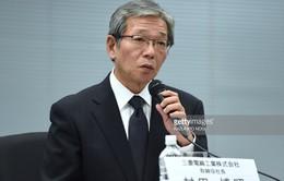 Lãnh đạo cấp cao Mitsubishi từ nhiệm sau bê bối giả số liệu