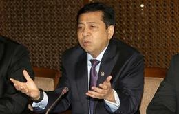 Indonesia bắt giữ Chủ tịch Hạ viện do tham nhũng