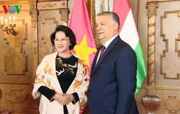 Chủ tịch Quốc hội hội kiến Thủ tướng Hungary