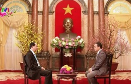 Chủ tịch nước Trần Đại Quang: Việt Nam tiếp tục chủ động, kiên định trong chặng đường phía trước