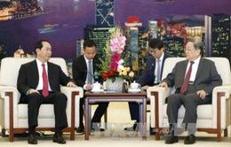 Chủ tịch nước hội kiến Chủ tịch Chính hiệp Trung Quốc